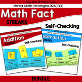 Math Fact Fluency with Addition and Subtraction Practice Booklets
