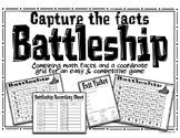 Math Fact Game: Battleship