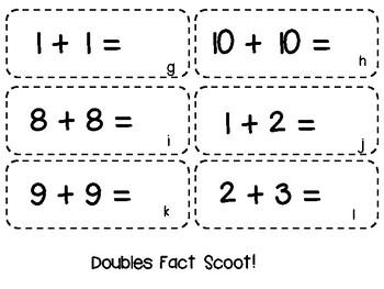 Math Fact Games Bundle {{Pow and Scoot}}