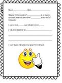 Math Fact Goal Sheet