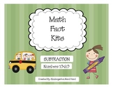 Math Fact Kits: Subtraction