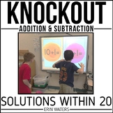 Math Fact Game [Addition & Subtraction Within 20 KNOCKOUT]