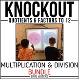 Math Fact Knockout BUNDLE {Multiplication & Division}