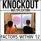 Multiplication Game | Math Facts | End of the Year Activities | Knockout
