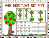 "Math Fact ""Love Bug"" Sort"