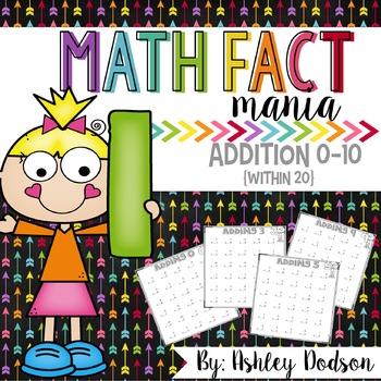 Math Fact Mania {Addition}