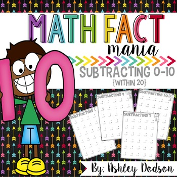 Math Fact Mania {Subtraction}
