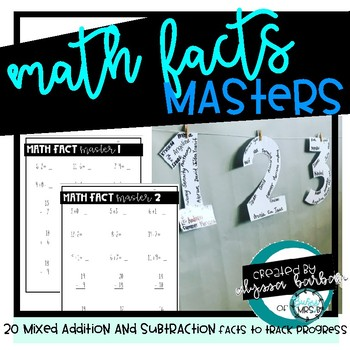 Math Fact Masters