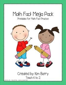 Math Fact Mega Pack