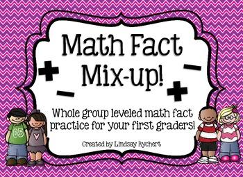 Math Fact Mix Up