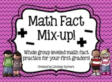 Math Fact Mix Up