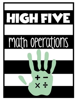 Math Fact Morning High Fives