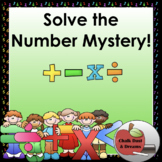 Math Fact Mystery Challenge