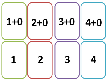 Math Fact NO PREP ADDITION BUNDLE (Go Fish and Matching Card Game)