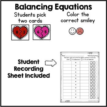 Math Fact Practice - {Valentine's Day}