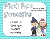 Math Fact Practice Activities Adding and Subtracting 2