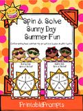 Summer Math Center Game