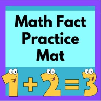 Math Fact Practice Mat