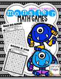 Math Fact Practice - Monster Style