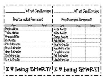 Math Fact Practice System