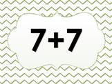 Math Fact Practice Warm up