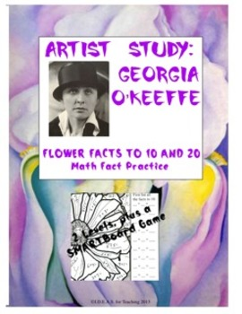 Math Fact Practice With Georgia O'Keeffe