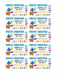 Math Fact Punch Card