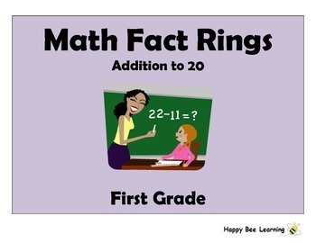 Math Fact Rings: Addition & Subtraction BUNDLE!
