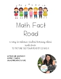 Math Fact Road, A Song to Enhance Math in Your Classroom