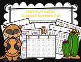 Math Fact Safari: Subtract Numbers 0-10