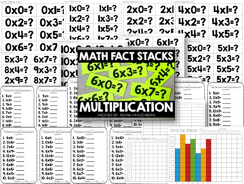 Math Fact Stacks {BUNDLE PACK}