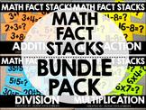 Math Fact Stacks {BUNDLE PACK}
