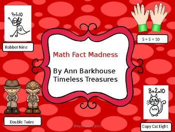 Math Fact Stories using the math fact strategies