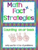 Math Fact Strategies Anchor Chart Cards