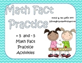 Math Fact Strategy Focus + 5 and - 5