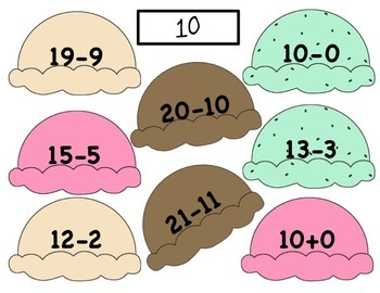 Math Facts: Activities Addition and Subraction First Grade