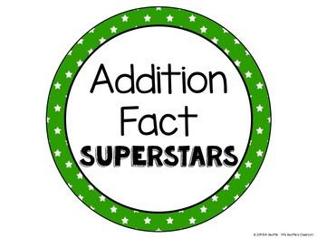 Achievement Bulletin Board Display - Addition & Subtraction Superstars