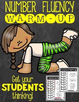 Math Fact Talk Warm Up