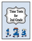 Math Fact Time Test for 2nd Grade
