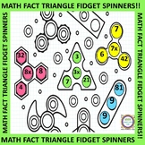 Math Fact Triangle Spinners Spin It to Win It