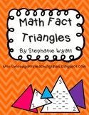 Math Fact Triangles