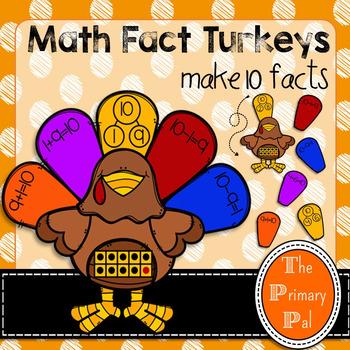 Math Fact Turkeys
