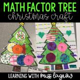 Math Factors Christmas Tree Holiday Craft