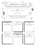 Math Facts Bundle 15 Worksheets
