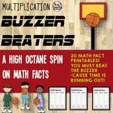 Basketball Math Facts: Multiplication Math Drills