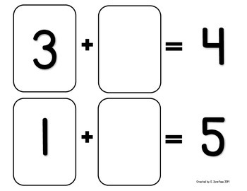 Math Facts 4-10 Addition: Playing Cards #2