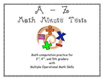 Math Facts A to Z