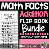 Math Facts Addition Flip Books Bundle