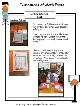 Math Facts Addition and Subtraction Fact Fluency Program *BUNDLE Basketball