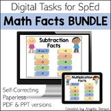 Math Facts BUNDLE | Digital Tasks for Special Education